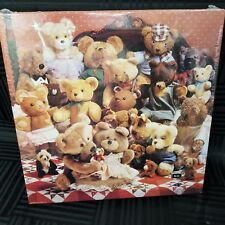 Springbok Jigsaw Puzzle The Best Of Friends Teddy Bears On Quilt Sealed 500 Pc