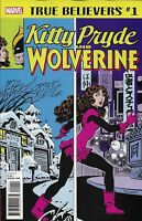 Kitty Pryde And Wolverine True Believers Comic 1 Classic Reprint 2018 Marvel .