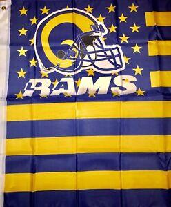 Los Angeles Rams-NFL-Football-Stars & Stripes