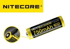 New Nitecore NL1475R 14500 750mAh 3.6V USB Protected Rechargeable Battery Cell