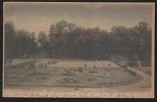 Postcard MT MOUNT PLEASANT Michigan/MI Local Area Tennis Courts Aerial view 1907