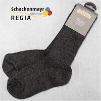 """10 Paar Regia Gr. 36/37 4-fach """" Fertigsocken """" Farbe 522 Anthrazit Schachenmayr"""