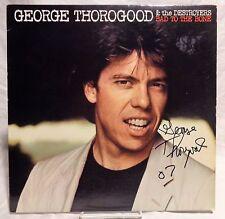 George Thorogood Signed Autographed Album A