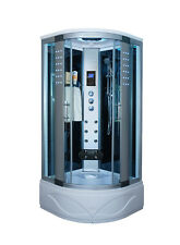 Kokss Contemporary 8004-AS 6 Body Massage Jet & Rainfall Shower Room Enclosure