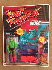 STREET FIGHTER II 2 GI JOE BLANKA Action Figure - 1993 non aperto, RARA