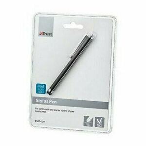 Penne per Tablet e Smartphone Punta in Gomma Morbida Colore Nero Trust B102174