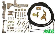 Weber lp2500 DCOE estilo clásico aluminio doble cable kit de acoplamiento 40 45