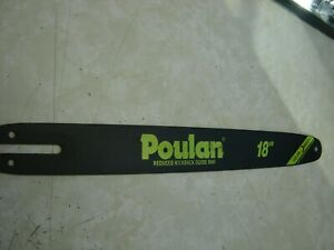 "Poulan 18"" Chainsaw Bar  62 Drive Link 50 Gauge"
