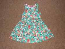 F&F Girls 100% Cotton Summer Beach Holiday Dress Age 4-5 yrs Height 110 cm