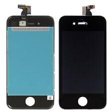 Vetro Touch screen con Display LCD originale NERO assemblato PER iPhone 4S -