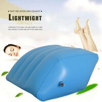 Soft Wedge Inflatable Leg Pillow Rest Pillow Cushion  Portable Knee Pillow  M5D4