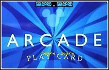 DISNEY 2010 USA MICKEY PLAY ARCADE VIDEO FUN GAMES COLLECTIBLE GIFT CARD