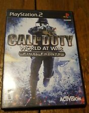 Call of Duty: World at War -- Final Fronts PS2 (Sony PlayStation 2, 2008)