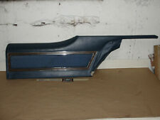 OEM 72 Buick Electra 2 Door RIGHT PASSENGER SIDE REAR UPPER DOOR PANEL TRIM BLUE