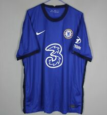 CHELSEA FC LONDON 2020 2021 HOME FOOTBALL SHIRT JERSEY NIKE SIZE XL