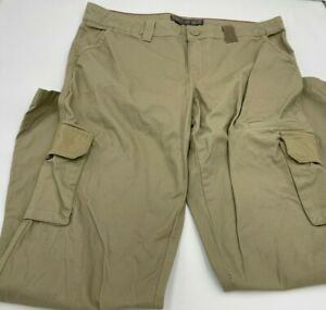 Dickies Cargo Pants Khakis Women's Relaxed Fit Size 12R Pockets
