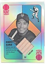 2003 Topps Chrome Blue Backs Relics Bat Card #RA Roberto Alomar