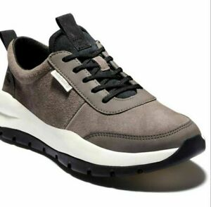 Timberland Men's boroughs project Sneaker Trainers Leather Shoes - Olive Suede