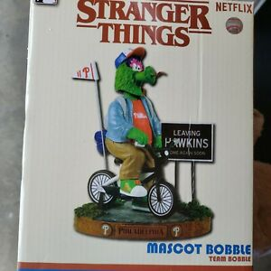 Phillie Phanatic Philadelphia Phillies Stranger Things Mascot FoCo Bobblehead
