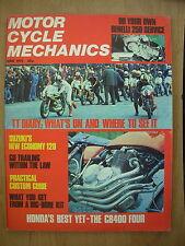 VINTAGE MAGAZINE MOTORCYCLE MECHANICS JUNE 1975