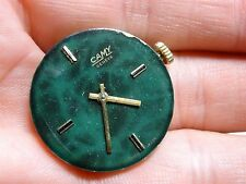 CAMY WATCH GENEVE GREEN  JUST THE Mechanism / movement for parts or to be fix