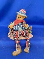 Vintage Cowboy Western USA Teddy Bear Doll Anthropomorphic Shelf Sitter ❤️m13