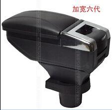 Center Console Armrest Storage Box fits Toyota Yaris black 2004-2017