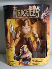Lot de 3 Hercules Legendary Journeys figures 1997 TOY BIZ Nouveau mésomorphe Atalanta