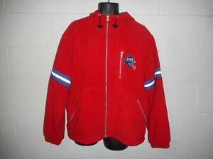 Vintage 90s Champion New York Giants Fleece Jacket Coat