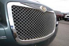 GRIGLIA ANTERIORE CALANDRA CROMATA Chrysler 300C 2004-2011 a nido d'ape- cromo