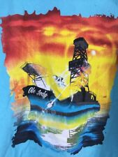 Mens XL Offshore TShirt TrIstate Envionmental Ole Jody Long Sleeve Oil Rig Graph