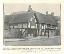 1904 New carnegie Free Library Near Shakespeare's House