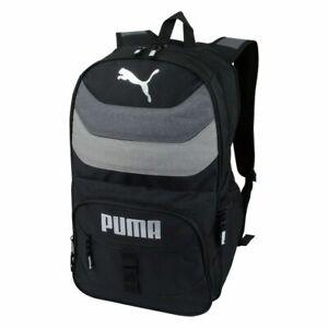 "Puma 19.5"" Quilt Stripe Laptop Backpack Fully Padded School Travel Bag"