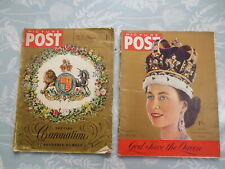 2 Picture Post Magazines Special Coronation Souvenirs June 1953