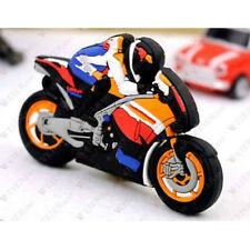 Cartoon Motorcycle Model USB 2.0 memory stick flash pen drive U-Disk 8GB Gift