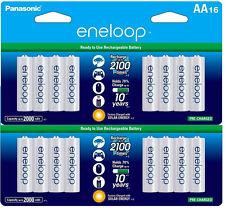 2 Pk =32 Batteries Panasonic Eneloop AA NiMH Rechargeable Battery HR6 2100 Cycle