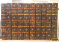 Antique THE BABYLONIAN TALMUD by Rodkinson & Wise 10 VOLUME SET Leather Bound
