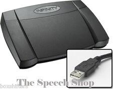 Infinity IN-USB-2 Digital Transcription Foot Pedal ***Brand New In Box***