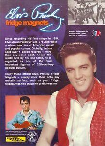 Elvis Presley Fridge Magnets. Set Of 10. New. Sealed