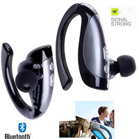 Earhook Noise Cancelling Bluetooth Headphones Stereo Headset for Mobile Phone