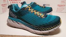 Pre Owned Used Hoka One One Clifton 5 Running Walking Shoes Mens Sz 9.5 FastShip