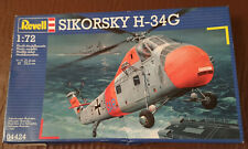 Revell Sikorsky H-34G helicopter kit in 1/72 scale