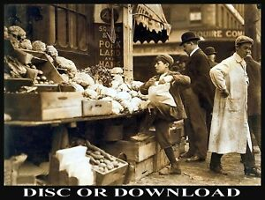 Print & Sell OLD USA STREET SCENES Restored Images on Disc or via Download Link