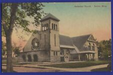 Methodist Church Dalton Massachusetts Hand Colored
