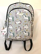 Betsey Johnson Sweet Unicorn Backpack Large School Travel Bag Diaper Bag NWT $98