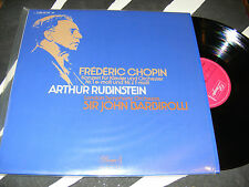 Frederic Chopin ARTHUR RUBINSTEIN Concerto No. 1 BARBIROLLI Made In Germany LP