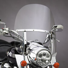 YAMAHA XVS1300A MIDNIGHT STAR 2007-15 N.C. SWITCHBLADE 2-UP WINDSHIELD N21137