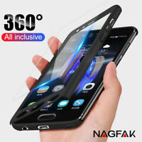 For Samsung Galaxy S7 / S7 EDGE 360° Full Body Cover+Screen Protector Slim Case