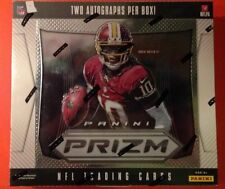 2012 Panini Prizm Football HOBBY Box 2 Autographs Andrew Luck RC? 1-of-1?