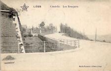 LIEGE CITADELLE  LES REMPARTS ECRITE EN 1913